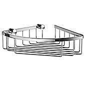 Smedbo Sideline Corner Soap Basket - Polished Chrome