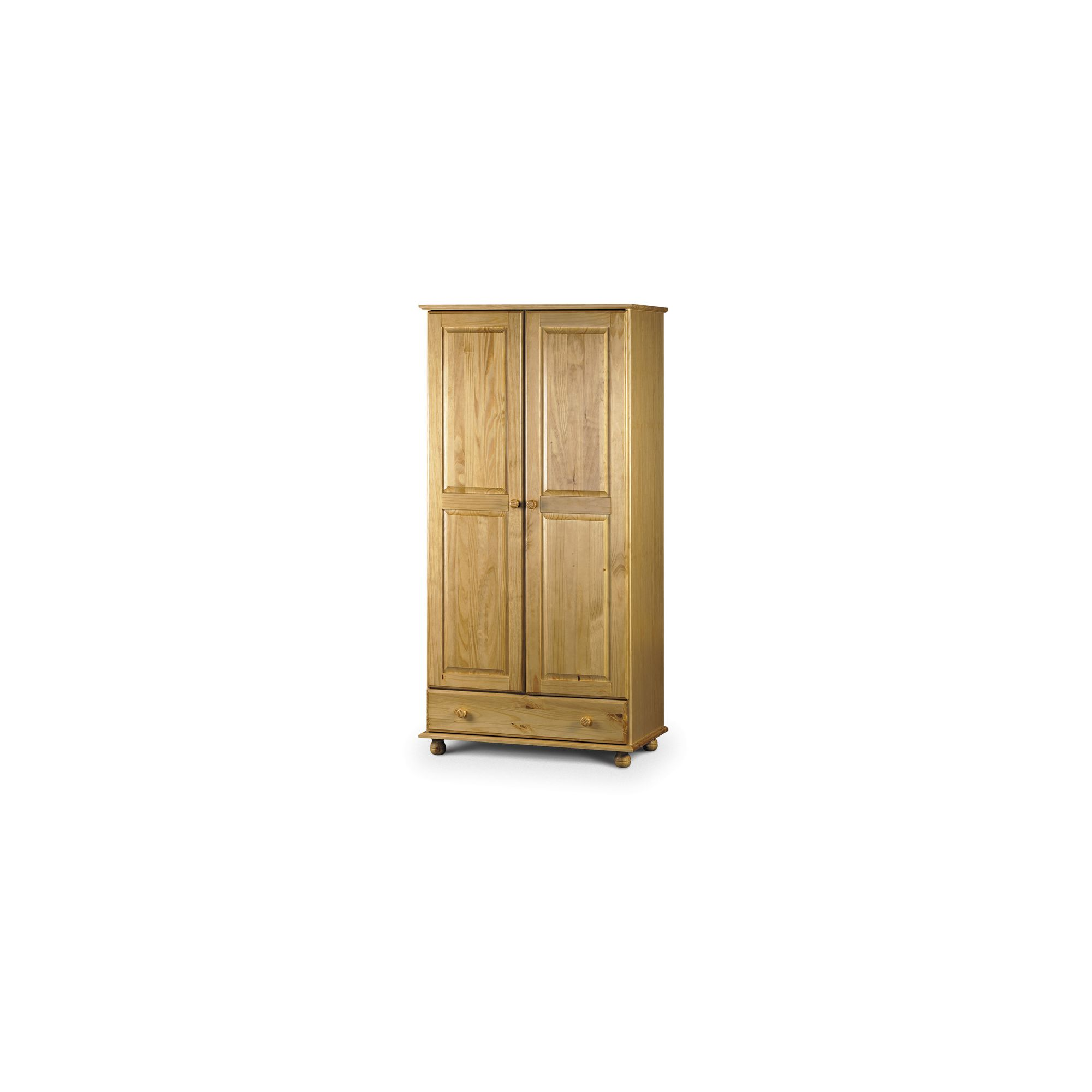 Julian Bowen Pickwick Combination Wardrobe in Solid Pine at Tesco Direct
