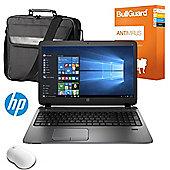 "HP ProBook 450 G2 - P5S40ES#ABU - 15.6"" Laptop Intel Core i5-5200U 16GB 500GB Windows 10 With Antivirus, Mouse & Case"