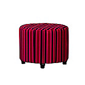 Sofa Collection Guillermo Footstool - Red