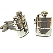 Hip Flask Novelty Themed Cufflinks