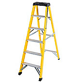 Trade 6 Tread GRP Fibreglass Step Ladder