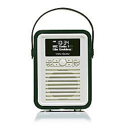 View Quest Retro Mini DAB+/FM Radio with Bluetooth (Emerald)