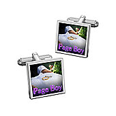 Sub Text To Have and To Hold - Pageboy Wedding Cufflinks By WD London