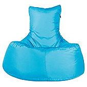 Big Bertha Original™ Indoor / Outdoor Tallback Chair Bean Bag - Aqua