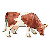 Farmland - Cow Liesel Brown & White Figure - 4.5' - Bullyland