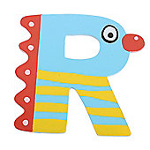 Tatiri Crazy Bird Letter R (Blue)