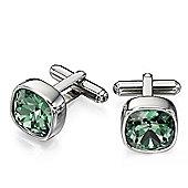 Fred Bennett Green Swarovski Crystal Elements Cufflinks