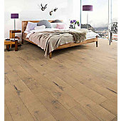 Westco 7mm V-Groove Oxford Oak Laminate Flooring - Pack Size 2.48m2