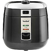 VonShef 1.8L Rice Cooker - Black