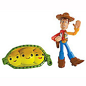 Toy Story - Colour Splash Figure 2 Pack - Waving Woody & Peas In A Pod - Mattel
