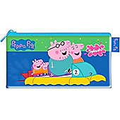 Stationery Peppa Pig Large Flat Pencil Case (each)