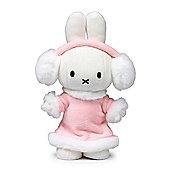 Miffy Winter Girl Soft Toy - 24cm