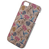 Tortoise™ Look Hard Protective Case, iPhone 5/5S, Hummingbird & Flower design