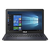 ASUS E402MA-WX0055T in Blue Intel Pentium Quad Core N3540 Processor 14 HD Screen Microsoft Windows 10 Home 64-bit 2GB RAM 32GB Storage Laptop
