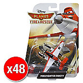 Disneys Planes Fire & Rescue Diecast Firefighter Dusty (Bulk value 48 pack)