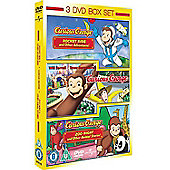 3 Film Box Set: Curious George Vol 1/Vol 2/Curious George The Movie (DVD)
