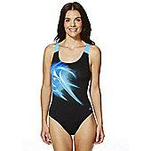 Zoggs Solar Burst Speedback Swimsuit - Blue