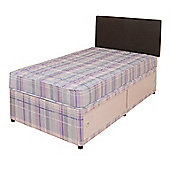 Comfy Living 3ft Single Eco Divan Set with 2 draw Storage