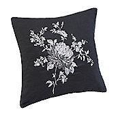 Julian Charles Liberty Mono Luxury Embroidered Cushion -45x45cm