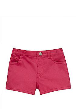 F&F Twill Shorts - Pink