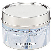 Wax Lyrical Made In England Tin Fresh Linen