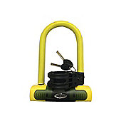 Squire Eiger Compact Shackle Lock Sold Secure Gold Rating Yellow
