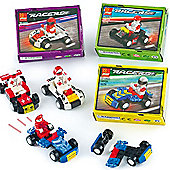 Speed Racer Construction Kits for Children (Pack of 4)