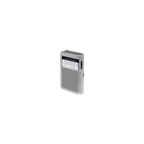 Sony ICFS22 Portable AM/FM Radio with Speaker