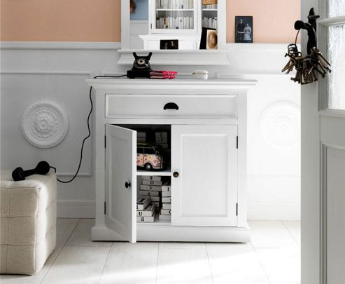 Whitehaven Painted Small Buffet Sideboard