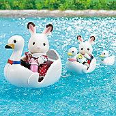 Swan Boat Set - Sylvanian Families Figures 5046