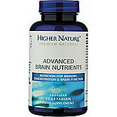 Higher Nature Advanced Brain Nutrients 180 Veg Capsules