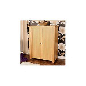 buy baumhaus aston oak shoe cupboard from our kitchen trolleys racks range tesco baumhaus aston oak coffee table