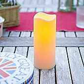 Large Outdoor Battery LED Candle With Timer