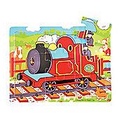 Bigjigs Toys BJ723 Tray Puzzle Train