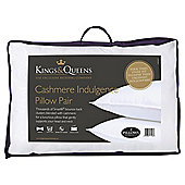 Kings & Queens Cashmere Indulgence Pillow Pair