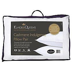 Kings & Queens Pillow Twinpack Cashmere Indulegence
