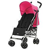 Obaby Atlas Stroller, Black/Pink