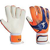 Precision Gk Fusion-X Replica Roll Finger Goalkeeper Gloves Size - Orange