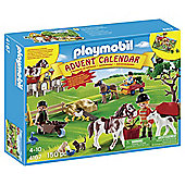 Playmobil Pony Farm Advent Calendar