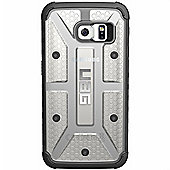 UAG Samsung Galaxy S6 Edge Ruged Phone Case In Clear/Black