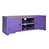 Home Essence Nanjing TV Stand - Aubergine