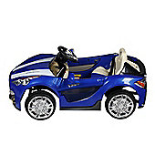 12V Maserati Style Ride On Car Blue