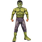 Age of Ultron Hulk Deluxe - Child Costume 10-11 years