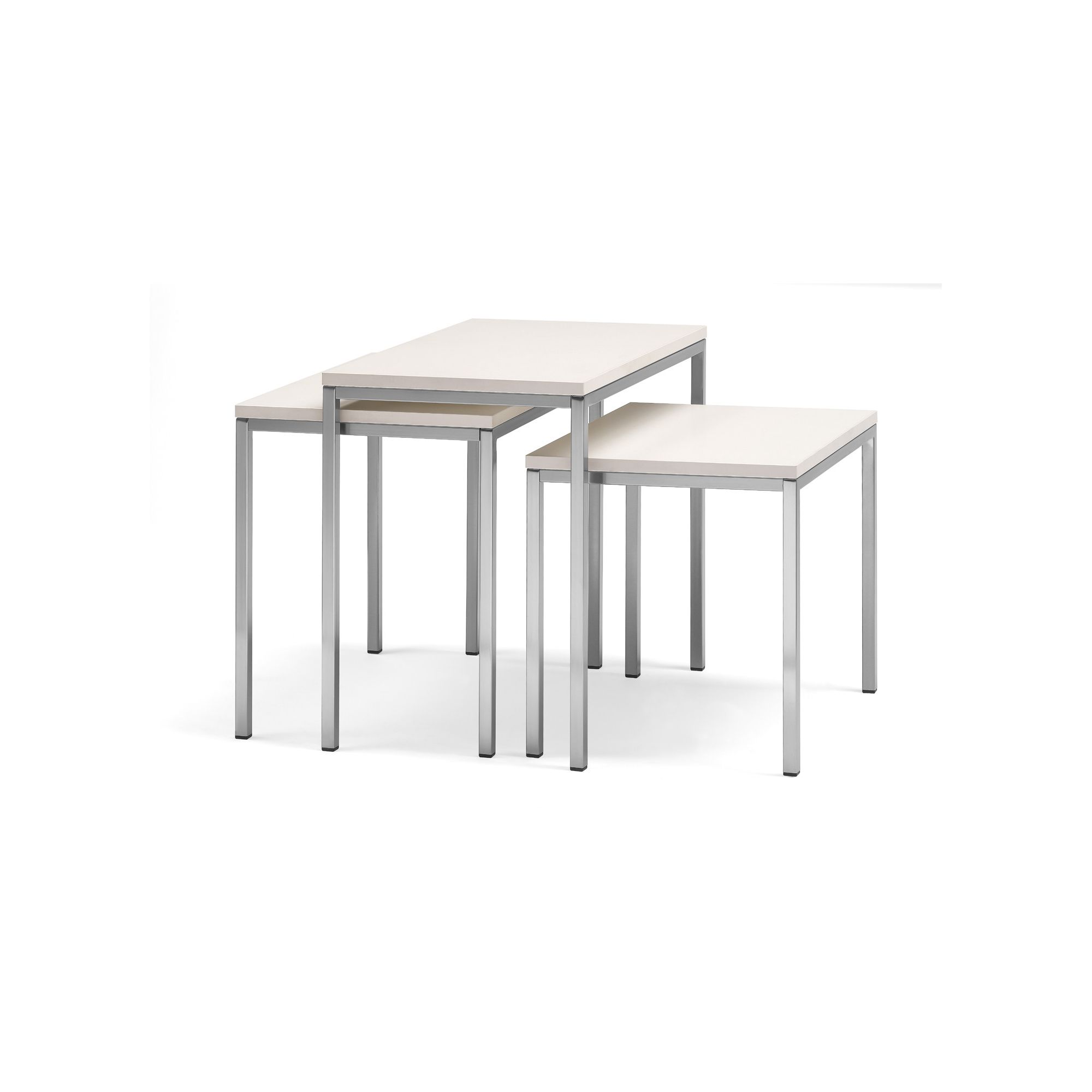 Pedrali Set_Pocket Table - Ivory at Tesco Direct