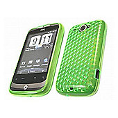 iTALKonline 13137 ProGel Skin Case - HTC WildFire - Green