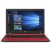 Acer ES1-571, 15.6-inch Laptop, Intel Celeron, Windows 10, 4GB RAM, 1TB - Red
