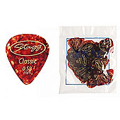 Stagg CSR58 Guitar Pick .58mm Pack of 72