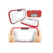 Cennett Silicone Gel Case For Nintendo Wii U GamePad Controller - Red
