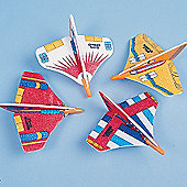 Party Bag Filler Mini Space Gliders (Pack Of 12)